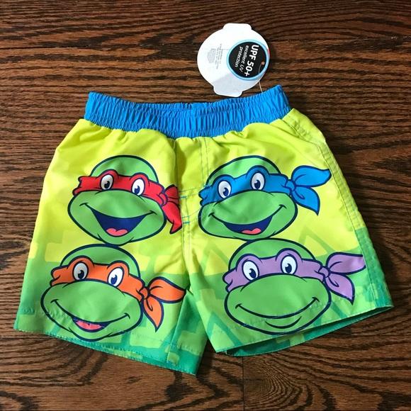 9e4fb0d232 Nickelodeon Swim | Toddler Boy Ninja Turtle Trunks | Poshmark